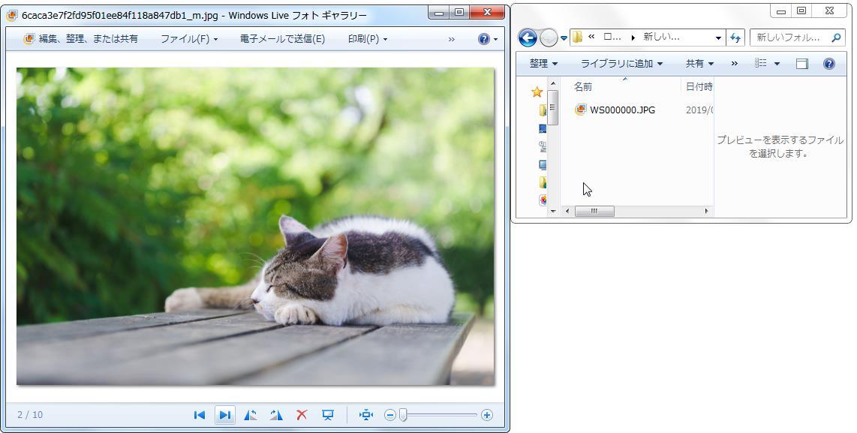 次の画像でホット・キー(Ctrl+0)を押下します。
